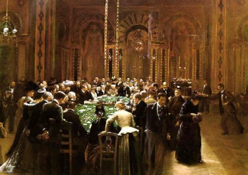 The Casino at Monte Carlo by Jean Beraud - 1890